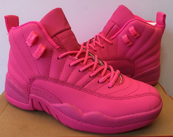 Womens Air Jordan Retro 12 All Pink Australia